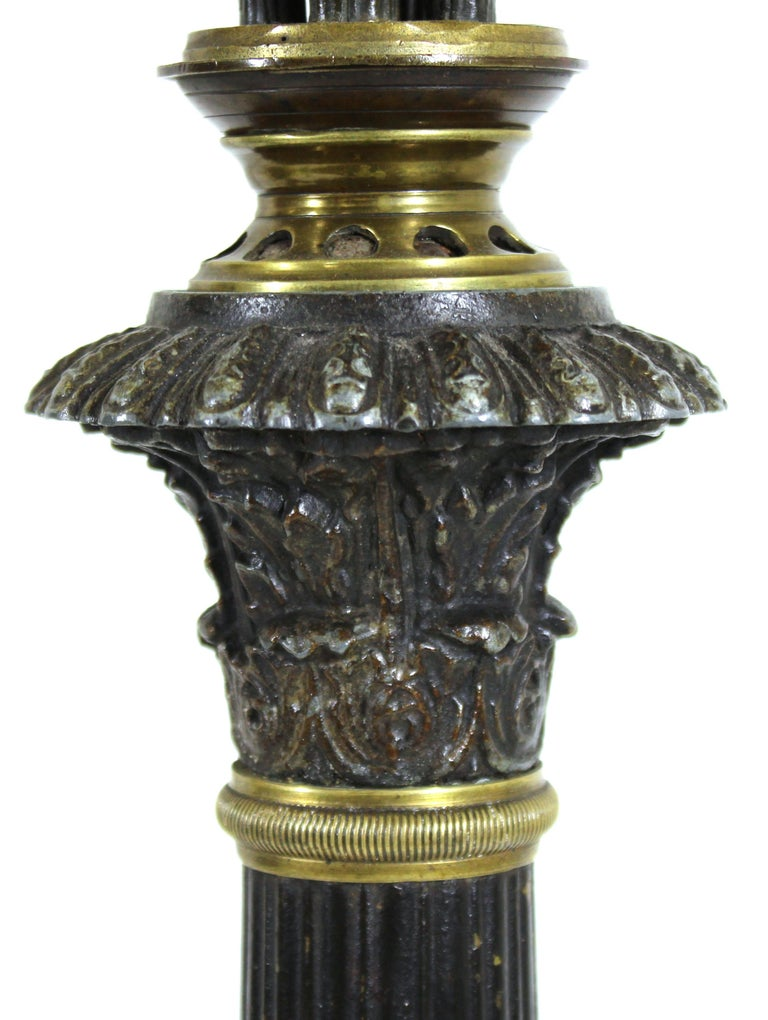 20th Century Grand Tour Style Candelabra Table Lamps For Sale
