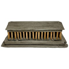 Grand Tour Style Model of the Temple of Poseidon at Paestum