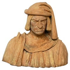 Grand Tour Terracotta Bust of Lorenzo de' Medici