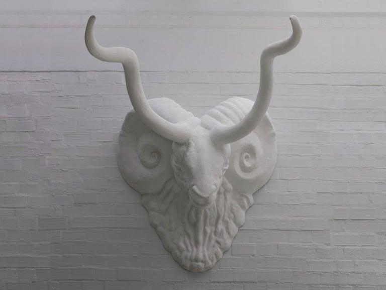 Italian Grand Wall Sculpture Modern Design  For Sale