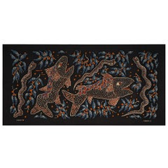 Grand Wall Tapestry by Celestin Kabuya and G. de Wit