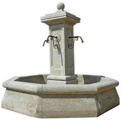 Grande Centrale Octagonal Fountain
