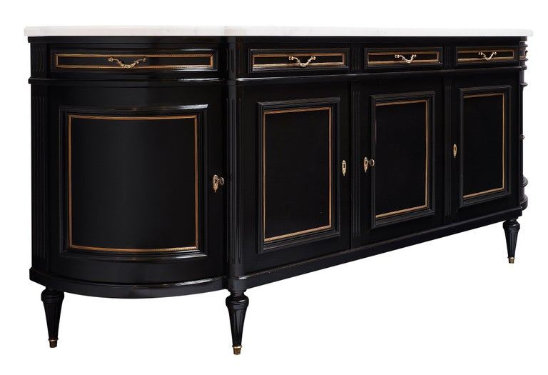 Grande Louis XVI Style French Antique Buffet