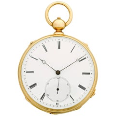 Grande Sonnerie Pocket Watch by Montandon