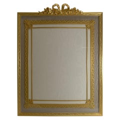 Grandest Antique French Gilded Bronze Photograph / Picture Frame, circa 1900