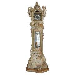 Grandfather Clock Venetian Rococo Style
