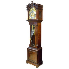Grandfather Longcase Clock, Mahogany, Metal, Glass, Charles Frodsham, London