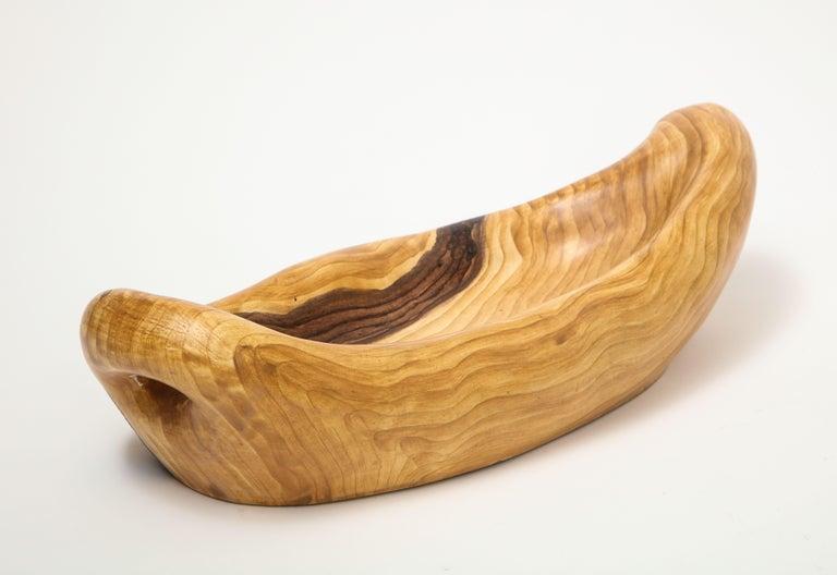 Grandjean Jourdan Faux Bois Ceramic Bowl For Sale 1