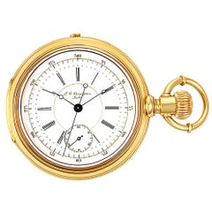 Grandjean Pocket Watch 1833, White Dial, Certified and Warranty
