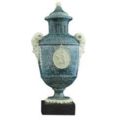 Granite Effect Vase, Palmer, circa 1775