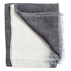 GRANITE Linen Scarf / Wrap / Shawl