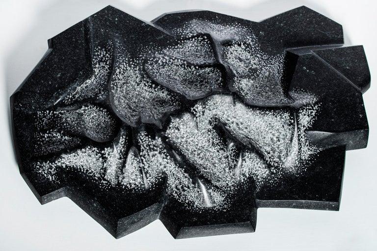 Granite sculpture by Juan Pablo Marturano, Argentina, 2019. Titled: