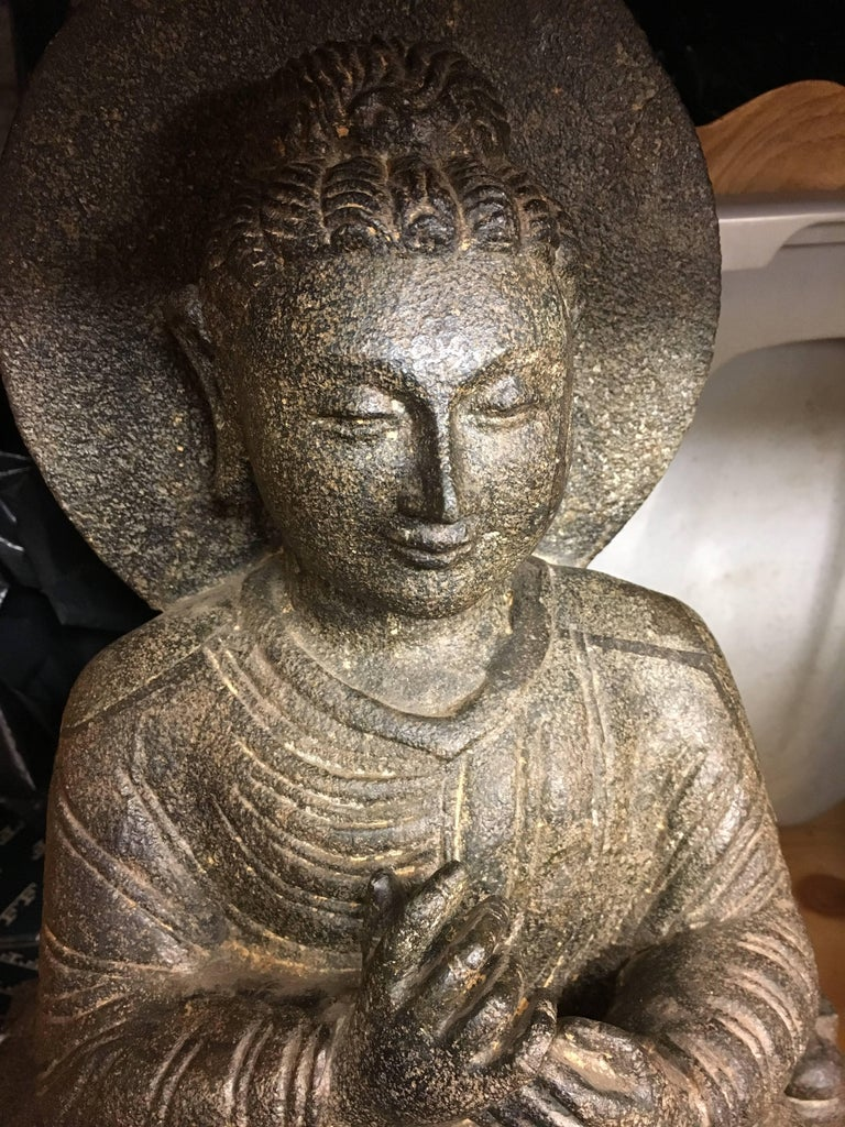 Granite Sitting Buddha India Early 1900s For Sale At 1stdibs