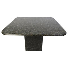 Granite Square Outdoor Dining Table