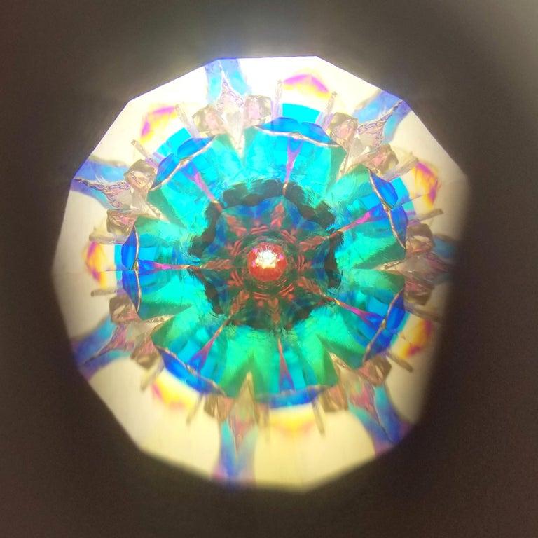 Women's or Men's Granulation Kaleidoscope Necklace For Sale