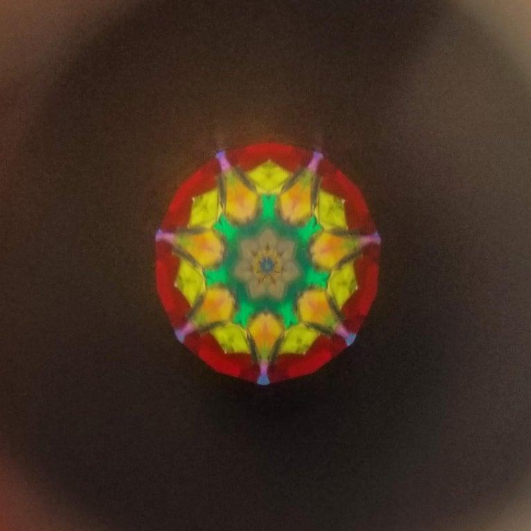 Granulation Kaleidoscope Necklace For Sale 4