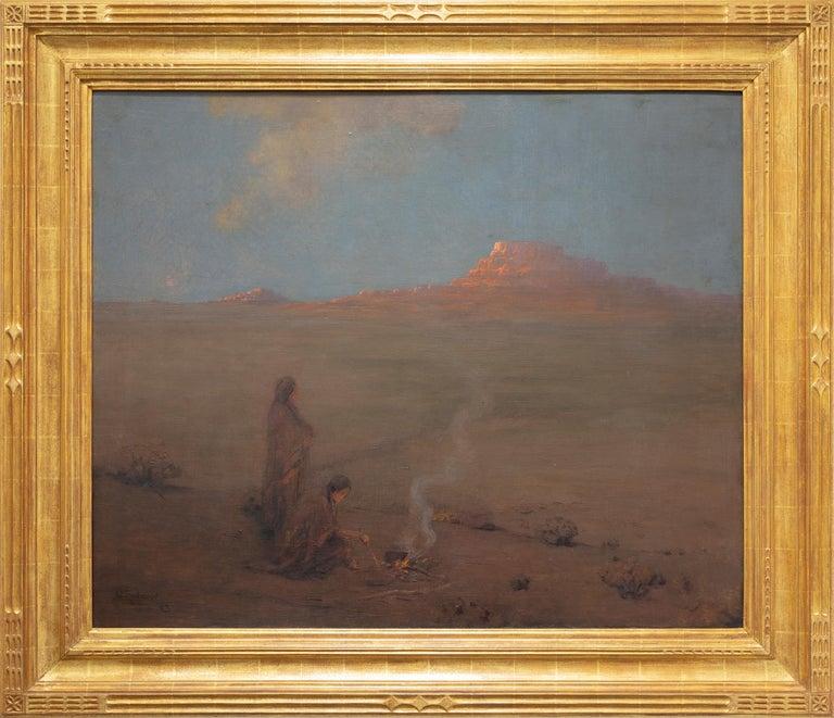 The Evening Desert - Painting by Granville S. Redmond
