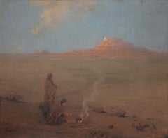 The Evening Desert