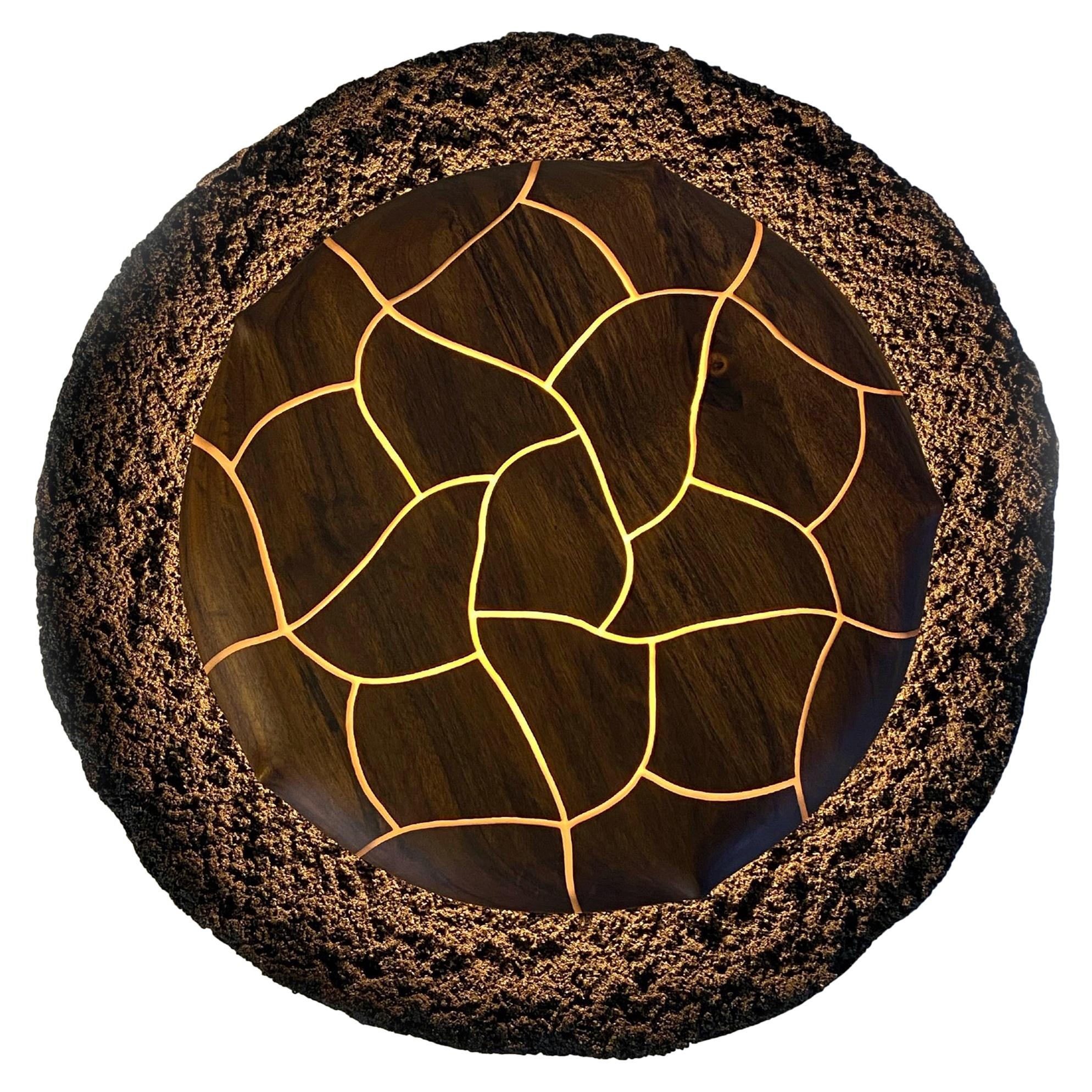 Grão Contemporary Wall Sculpture Lamp by Marcos Amato, Limited Edition