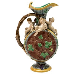 Grape Harvest Ewer, Deigned by H. Protat for Minton, 1872