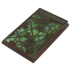 """Grapevine"" Notepad Holder by Tiffany Studios, New York"