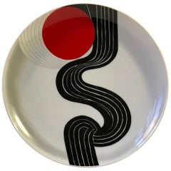Graphic Art Wall Plaque 'Energie' by Srivastava Narendra for Rosenthal, 1979