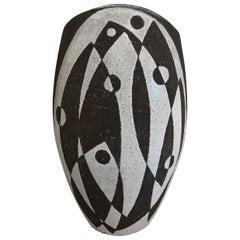Graphic Danish Ceramic Vase