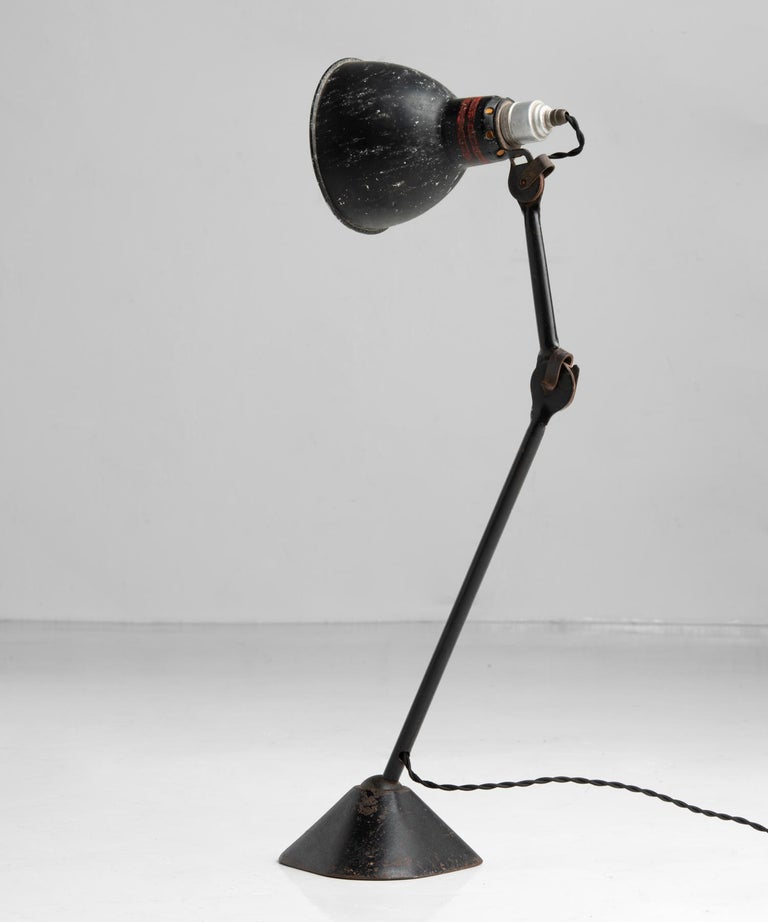 Industrial Gras Lamp No. 205, France, circa 1930 For Sale