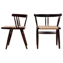 Grass-Seated Chair by George Nakashima for NID