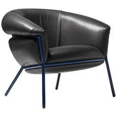 Grasso Armchair by Stephen Burks, Black