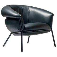 Grasso Armchair by Stephen Burks, Green