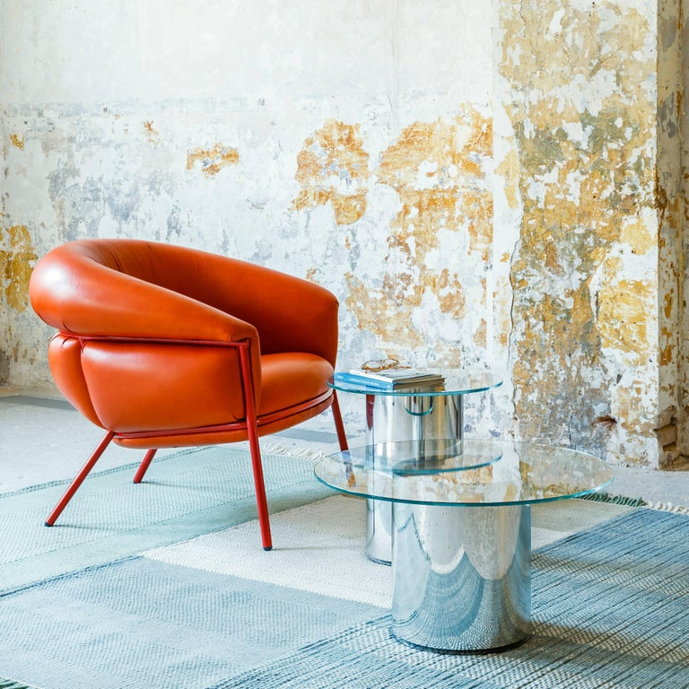 Grasso Armchair by Stephen Burks, Orange 2
