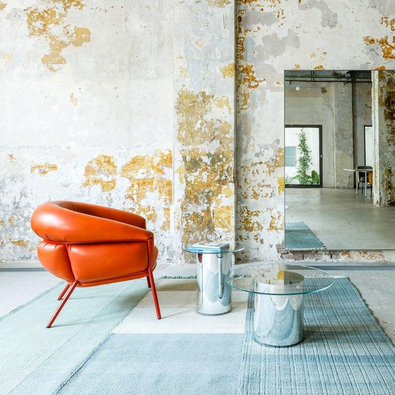 Grasso Armchair by Stephen Burks, Orange For Sale 2