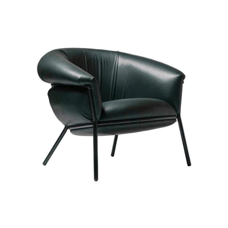 Grasso Armchair in Leather by BD Barcelona