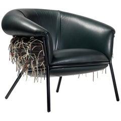 Grasso Armchair Special Edition Version Designed by Stephen Burks+Bolón Textiles