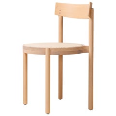 Gravatá Chair in Bleached Tauari Wood by Wentz, Brazilian Contemporary Design