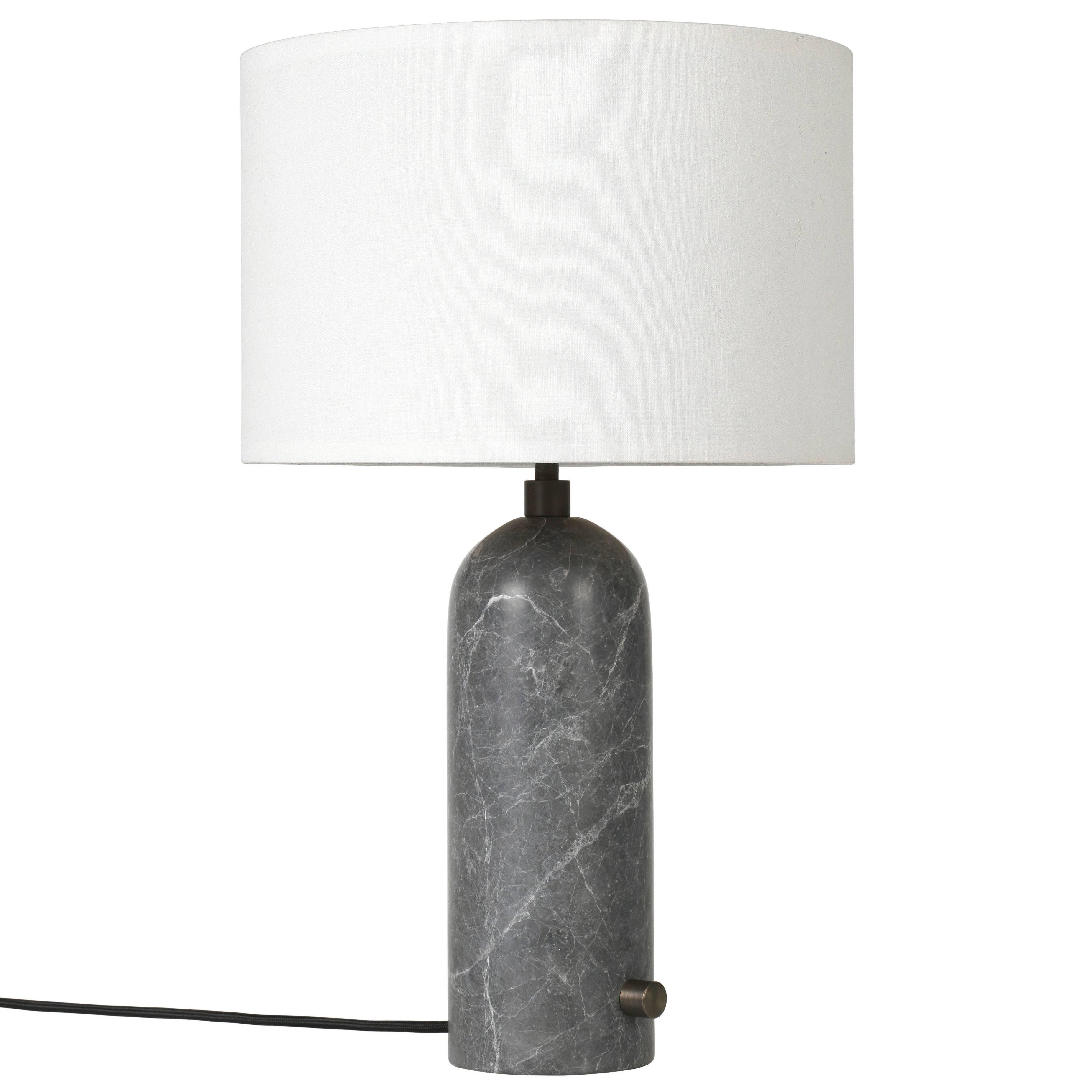 U0027Gravityu0027 Grey Marble Table Lamp For Sale. U0027