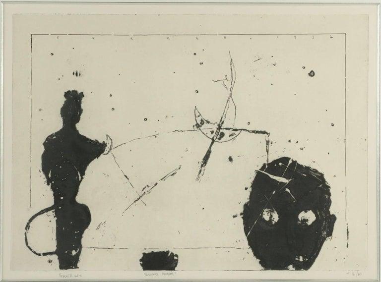 Gravure Lithograph signed Ferrer April 1992, entitled