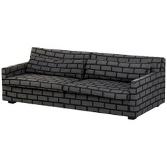 Gray Brick & Mortar Sofa, Rich Woods & Seb Wrong, Established & Sons, UK, 2009