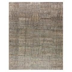 Gray Modern Eskayel Akimbo Rug