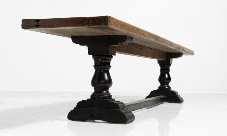 English Gray's Inn Bench For Sale