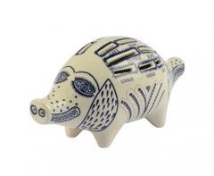 Piggy Bank -- Sculpture, Ceramic, Animal, Contemporary Art by Grayson Perry