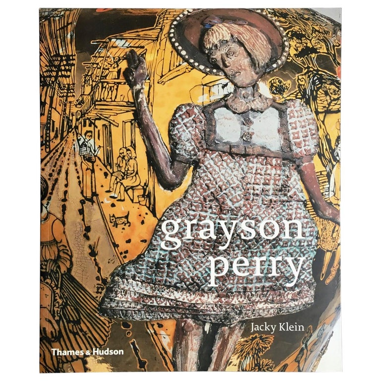 """Grayson Perry"" Book by Jacky Klein, Signed by the Artist For Sale"