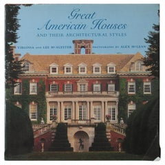 Great American Houses and Their Architectural Styles Hard Cover Book