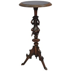 Great Antique Guéridon with Jester Base