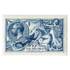Great Britain 1915 10s Deep Blue Postage Stamp - SG411