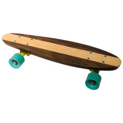 Great Design 1/10 Skateboard in Walnut and Maple by Cuevas