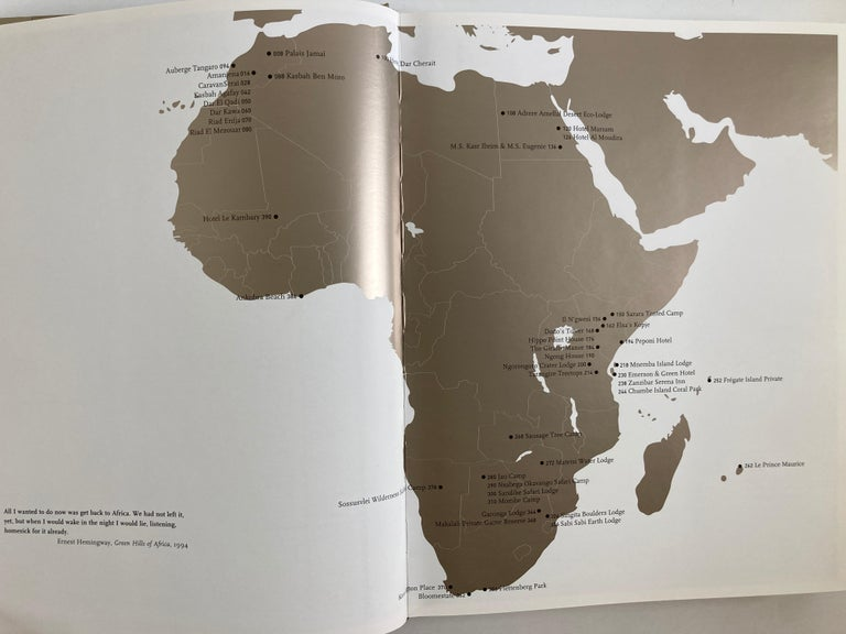 Great Escapes Africa, the Hotel Book Tashen 11