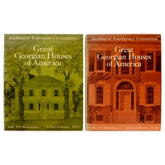 Great Georgian Houses of America, Volumes 1 & 2