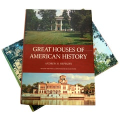 Great Houses of American History by Andrew H. Hepburn, Stated 1st Edition